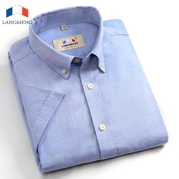 100% Cotton Casual Shirts Men's Dress Shirt