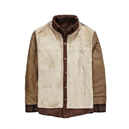 100% Cotton Liner Casual Shirts Outerwear