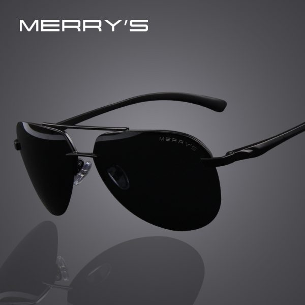 100% Polarized Aluminum Alloy Frame Sunglasses