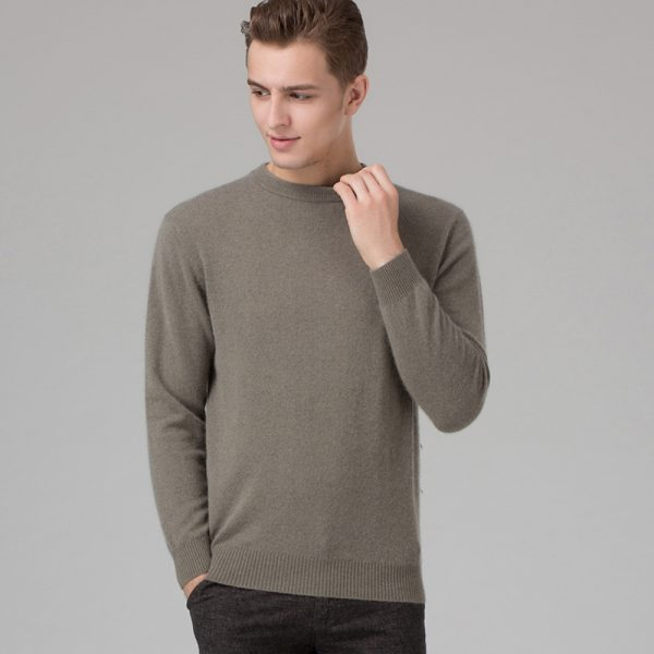 100% Pure Cashmere Knitted Sweater