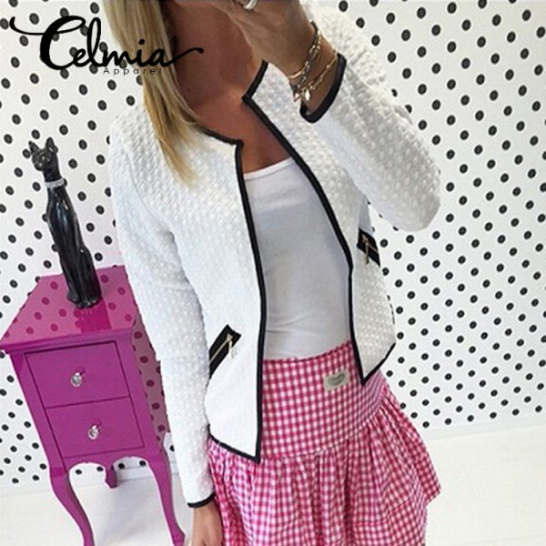 Business OL Office Suit Jacket Feminino Outwear