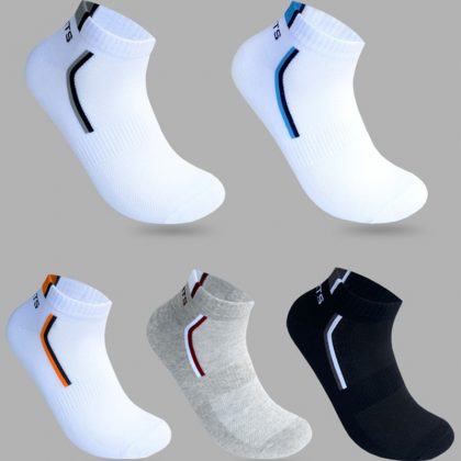 5 Pairs Men Socks Teenagers Short Sock