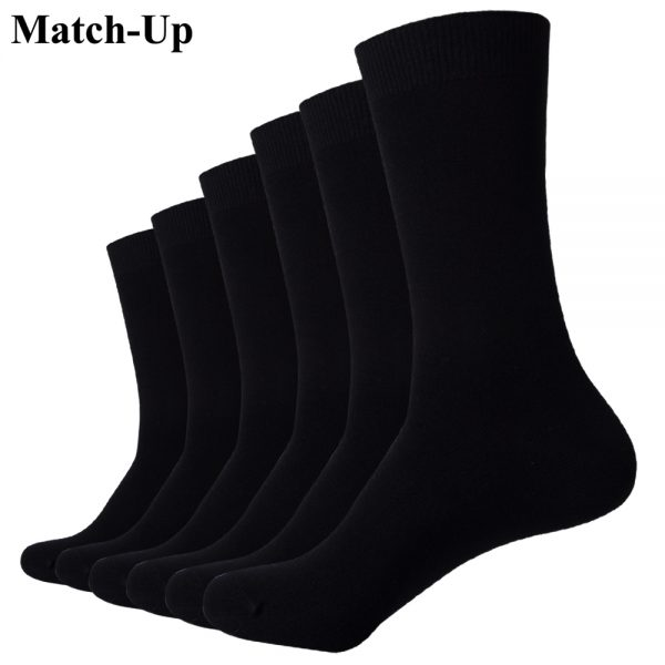 Business Cotton Sock Wedding Socks (6 Pairs)