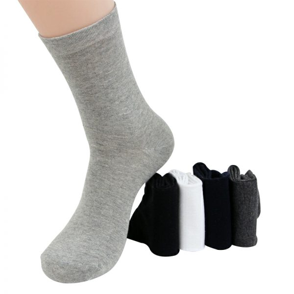 Business Cotton Socks Casual Long Socks 12 pcs