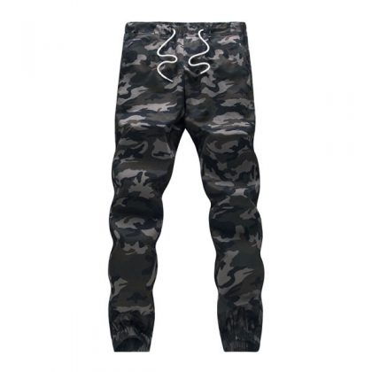 Camouflage Tactical Cargo Pants Men Joggers Boost