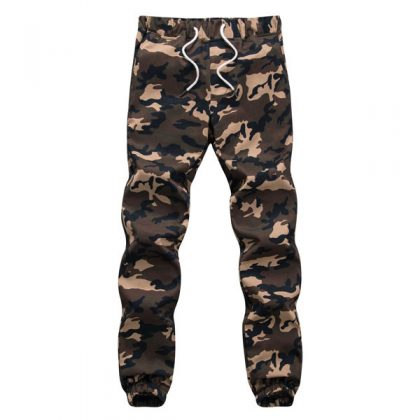Camouflage Military Pants Men's Jogger