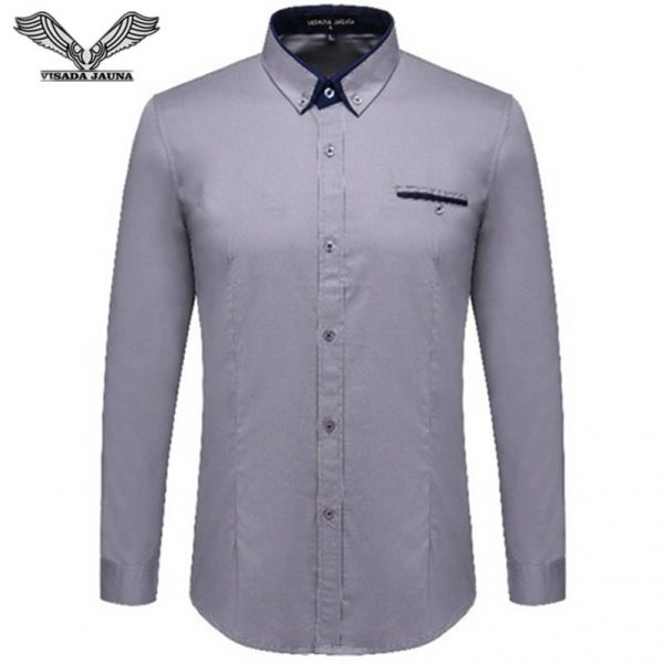 Cotton Male Shirt Men Business Shirts