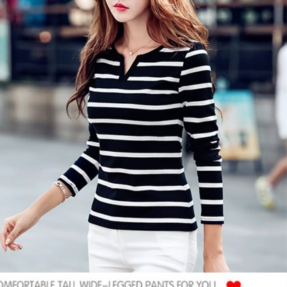 Fashion Cotton T-shirt Female T Shirts Tops