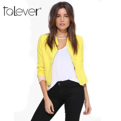 Fashion Women's Short Blazer Coat