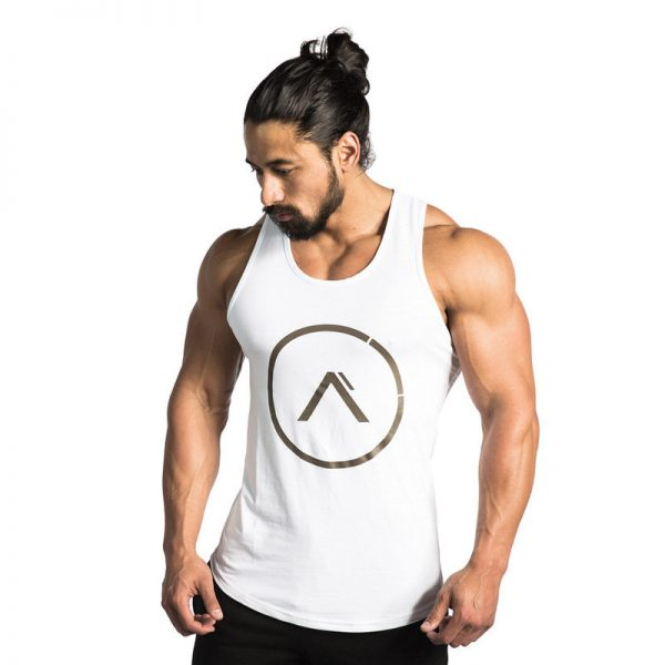 Fitness Bodybuilding Hooded Tank Top