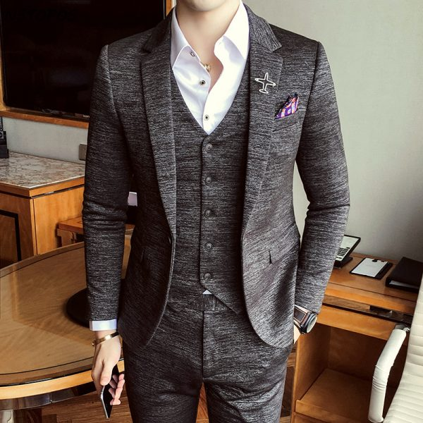 Formal Men's Suits Wedding Groom Costume