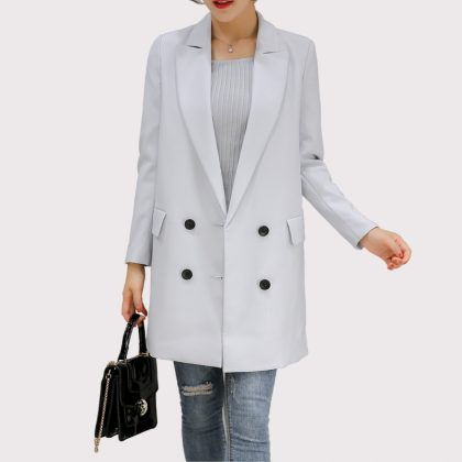 Long Women Blazers Jackets