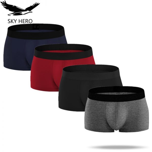 Men's Underwear Boxers Cotton Man Panties