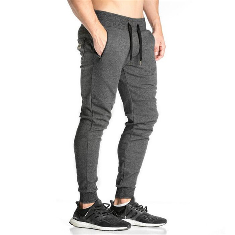Men Jogger Pants Bodybuilding Gyms Pants