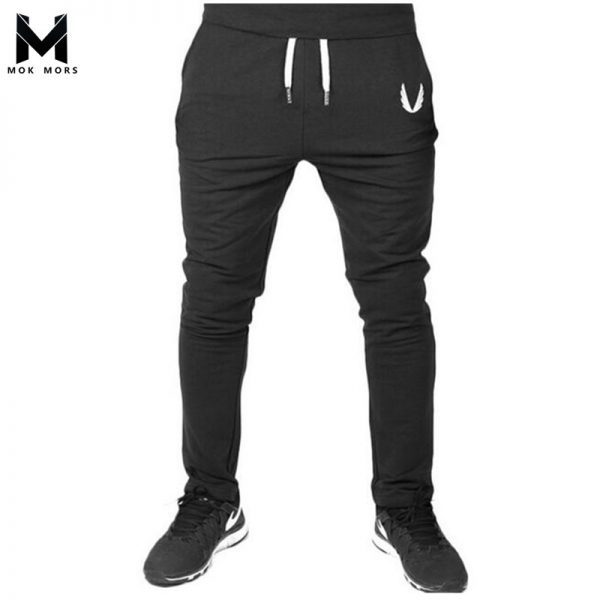 Men Joggers Embroidery Men's Sweatpants