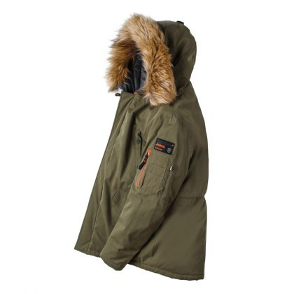 Men Padded Parka Winter Coat