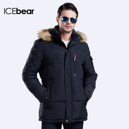 Men Warm Coat Fashion Casual Parka