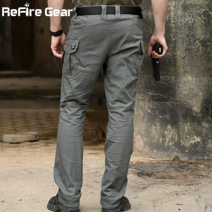Military Tactical Pants Multi Pocket Army Cargo Pants