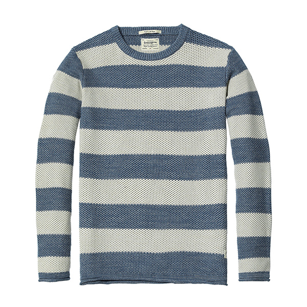 New Striped Sweater Knitted Pullovers