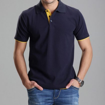 Polo Shirt Casual Men Tee Shirt Tops