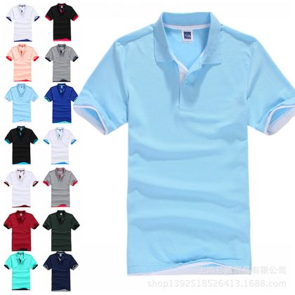 Polo Shirt Cotton Short Sleeve shirt