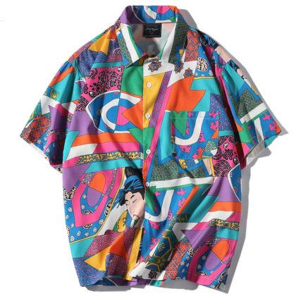 Short Sleeve Shirt Casual Shirt Hawaiian Shirts