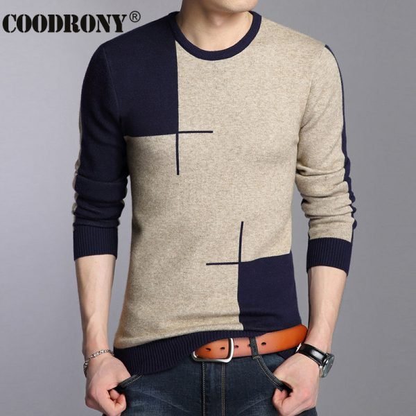 Thick Warm Sweaters O-Neck Wool Sweater