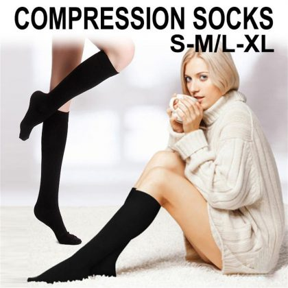 Unisex Compression Socks Knee High Stockings