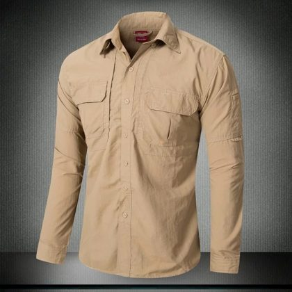 Urban Tactical Shirt Casual Breathable Clothing