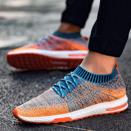 Breathable Mesh Summer Running Shoes