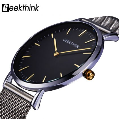 Casual Japan quartz watch stainless steel