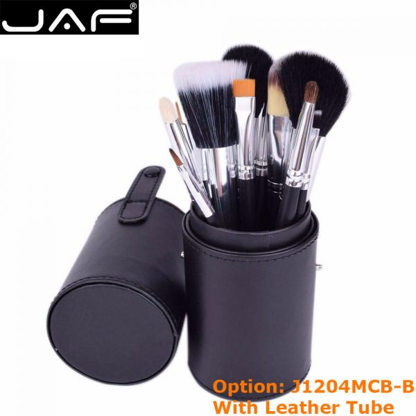 Convenient Portable Leather Cup Natural Hair
