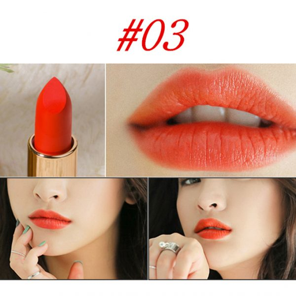 Diamond Lip Stick Eye Makeup Velvet Matte Lipstick
