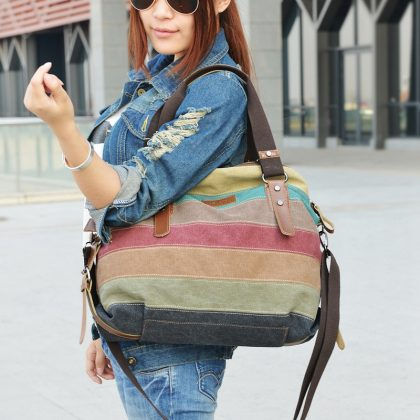 Fashion Canvas Bag Women Handbags