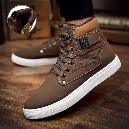 Men Snow Boots Cotton Ankle Boots