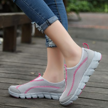 Summer Mesh Men Casual Shoes Light Flats Shoes