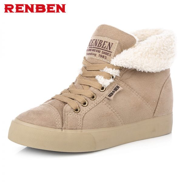 Warm Ankle Boots Winter Women Shoes