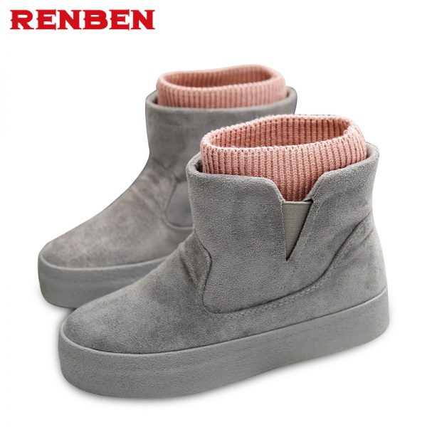 Winter Boots Botas Mujer Women Boots