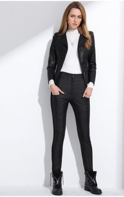 Women Winter Pant Formal Trousers