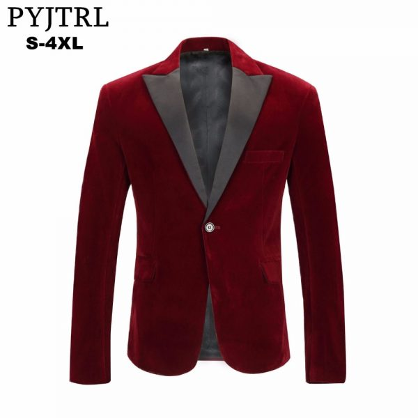Fashion Leisure Suit Jacket Wedding Groom