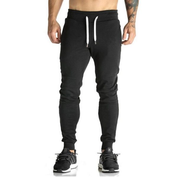 Men Sweatpants Fitness Bodybuilding Joggers