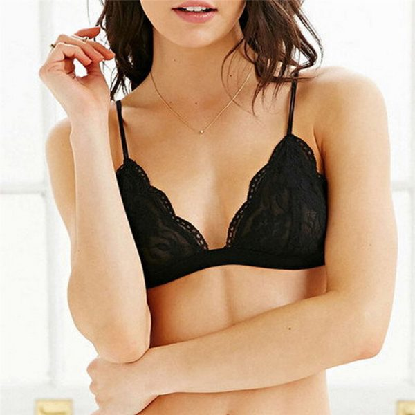 Sexy Crop Top Bra Wireless Brassiere