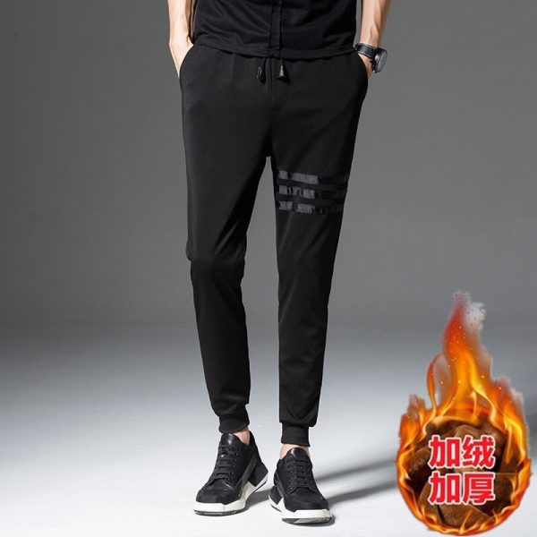 Winter Trousers Casual Men's Sports Pants
