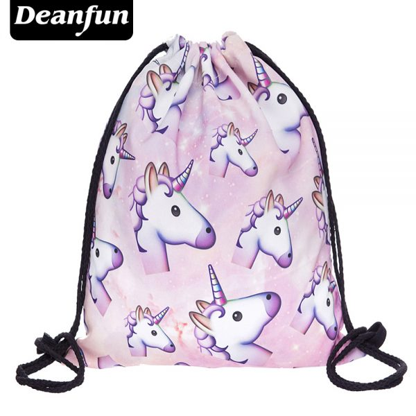3D Printing Schoolbags Unicorn Pattern