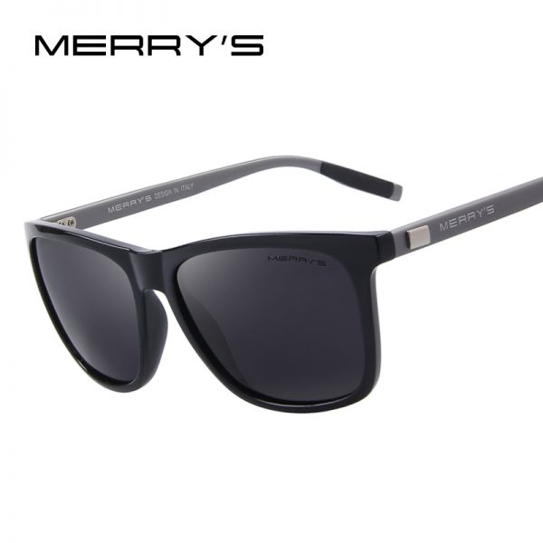 Unisex Retro Aluminum Sunglasses Polarized Lens