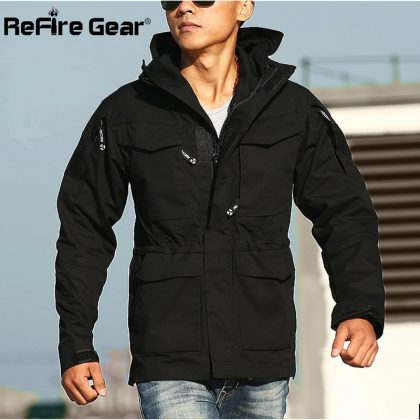 Army Clothes Casual Tactical Windbreaker