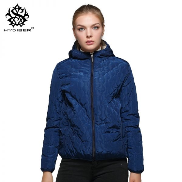 Artificial Fleece Hooded, Autumn Outwear, Fleece Inside Hooded, Inside Hooded, Short Winter Coats, Tops Jackets, winter Coats, Women Parka