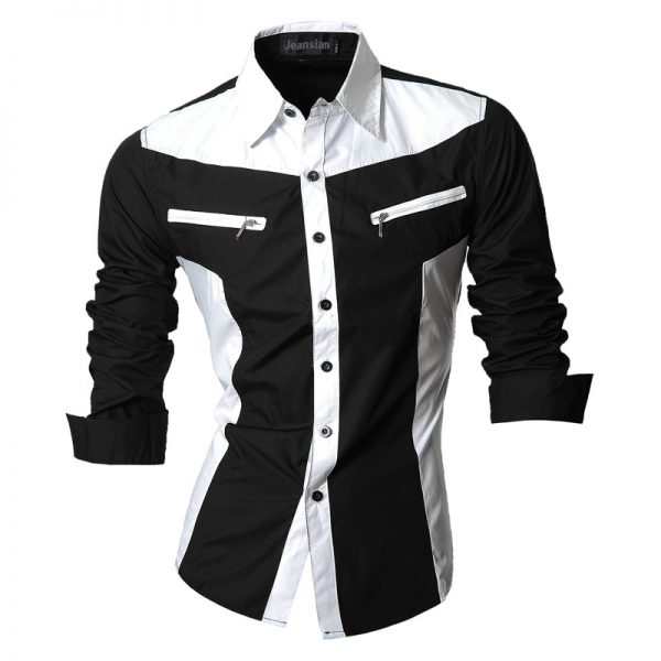 Autumn Features Shirts Men Casual Jeans Shirt