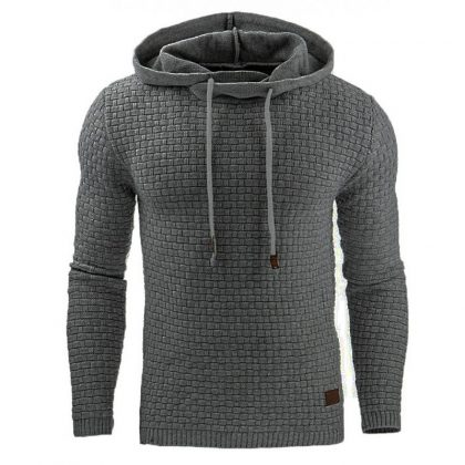 Color Hooded Sweatshirt Coat Casual Sportswear