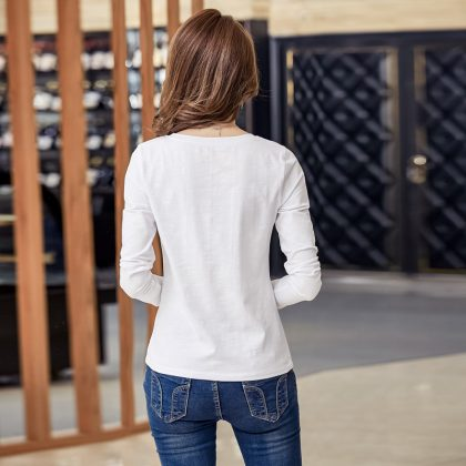 Cotton Embroidery Blouse Casual Shirt
